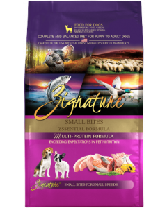 Zignature Zssentials Small Bite Dog Food Dry 13.5lb