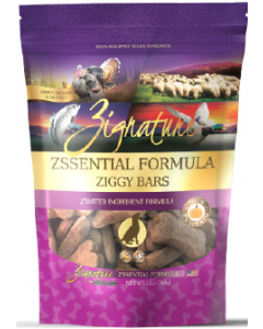 Zignature Ziggy Bars Treats Zssential Dog Treat 12oz