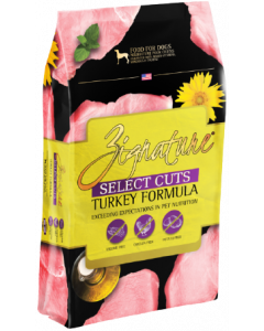 Zignature Select Cuts Turkey Formula Dog Food 12.5lb