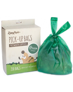Zippy Paws 210 Count Pick Up Bags