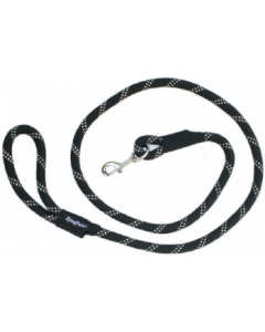 Zippy Paws 6' Black Climbers Dog Leash