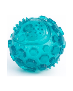 Zippy Paws Squeaker Ball Teal Large Dog Toy