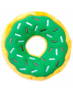 Zippy Paws Mint Chip Donut Holiday Dog Toy