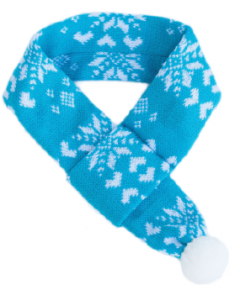 Zippy Paws Scarf Winter Small