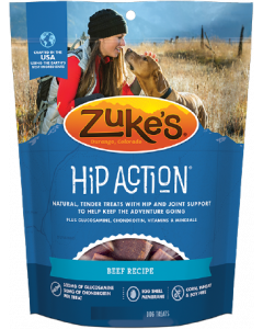 Zuke's Hip Action Beef Dog Treat 16oz