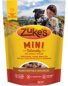 Zuke's Mini Naturals Peanut Butter Dog Treat 16oz