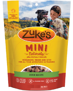 Zuke's Mini Naturals Duck Dog Treat 6oz
